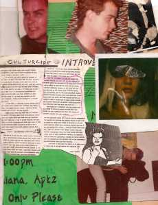 Mixed Media Collage, with Culturecide Review