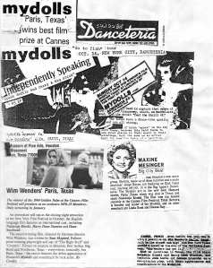 Danceteria Gig Write-Up Collage