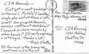 Fan Postcard 1982