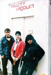 Mydolls, on tour, outside Faulty (Dead Kennedys)