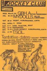 Jockey Club Calendar