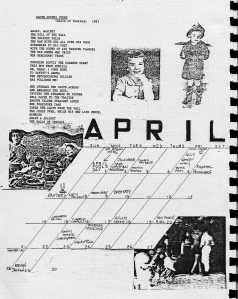 Mydolls Calendar, April