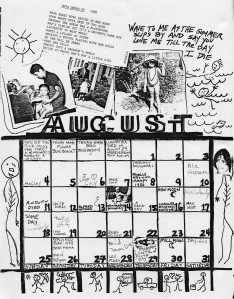 Mydolls Calendar, August