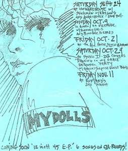 Mydolls Show Calendar!