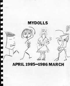 Mydolls Calendar, 1985-86, Front Cover