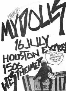Mydolls, at the Houston Express