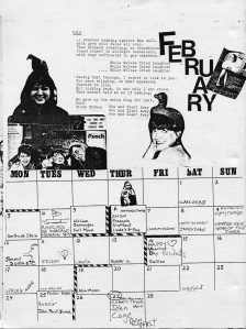 Mydolls Calendar, February