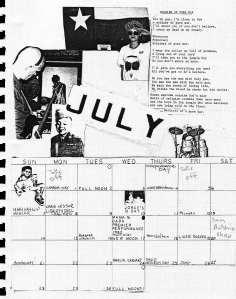 Mydolls Calendar, July