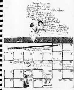 Mydolls Calendar, November