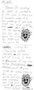 """Letter from """"Scum"""", Ohio Fan"""