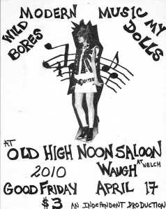 At the Old High Noon Saloon