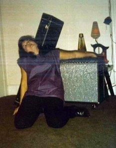 Trish, the rocker.