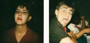 Dianna and George, Polaroids