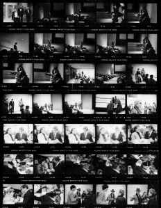 """Paris,TX"" event photos, contact sheet"