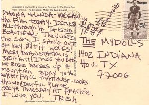 Postcard from Trish
