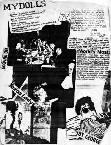 Xerox Collage by Trish
