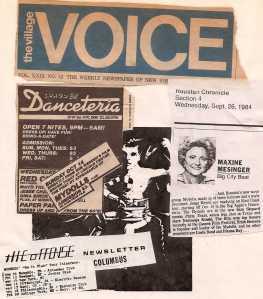 Village Voice Collage by Trish