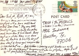 Postcard from Salt Lake City