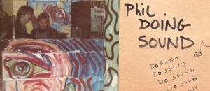 Phil doing sound at Danceteria