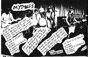 Mydolls clipping from Hymnal #2, Houston, TX