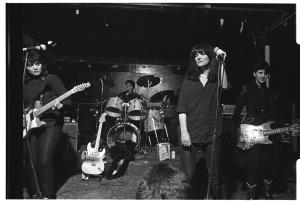 Mydolls at The Island, Houston, TX, Jan. 1982, by Ben DeSoto